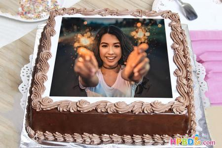 Create Birthday Cake With Photo Edit