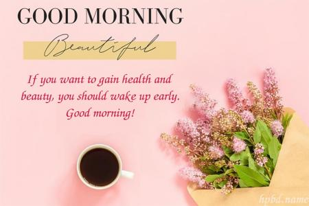 Write Wishes On Sweet Good Morning Greetings Cards