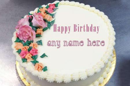 Superb Birthday Cake With Name Birthday Cards Printable Opercafe Filternl
