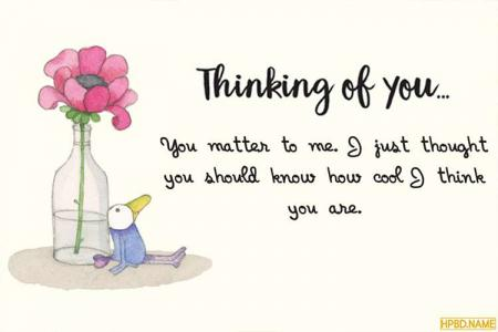 Free Everyday Thinking of You Cards Images
