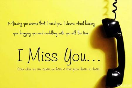 Create Miss You eCards & Greeting Cards for Lover