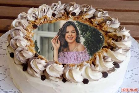 Buttercream Birthday Cake With Photo For All Relations