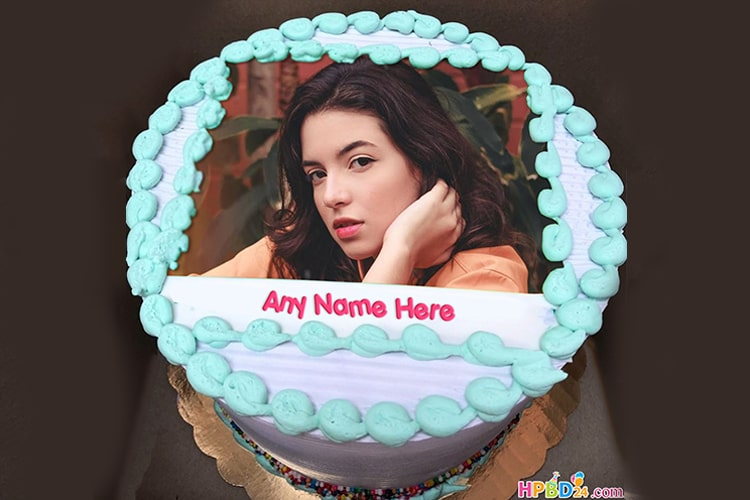 Birthday Cake With Name And Photo Free Download