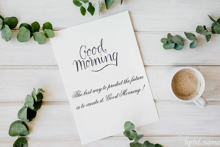 Everyday Good Morning Greeting Cards Maker