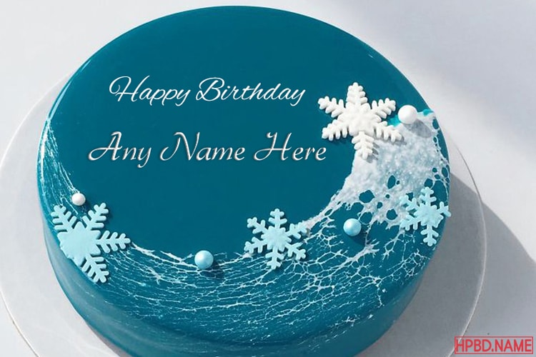 Sea Cakes Images With Name Online Editing
