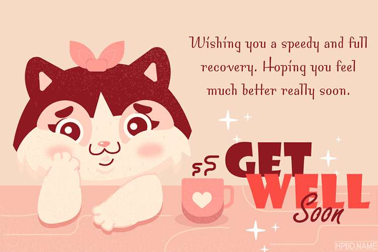 Cute Get Well Soon Cards  Free Download