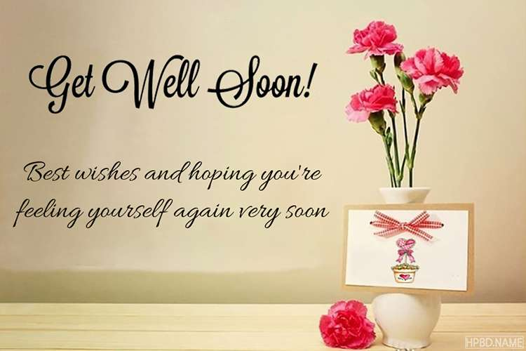 Create Get Well Soon Greeting Card Images