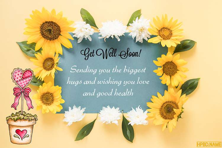 Free Get Well Soon Greeting Cards Maker Online