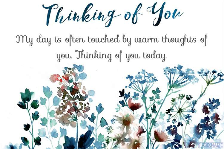 Free Download Thinking of You Cards Images