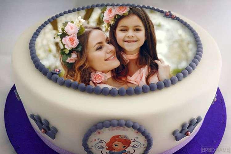 Happy Sofia Princess Birthday Cake With Pics For Girls