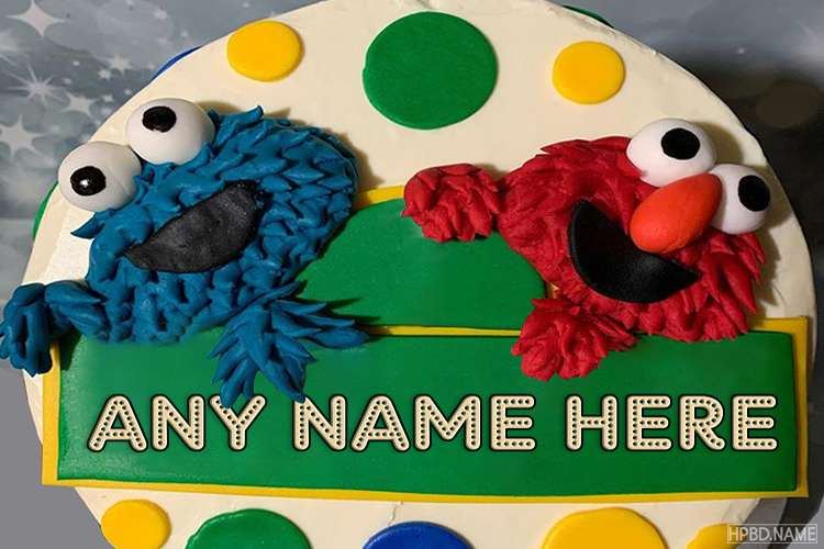 Funny Happy Birthday Cake For Kid With Name Edit