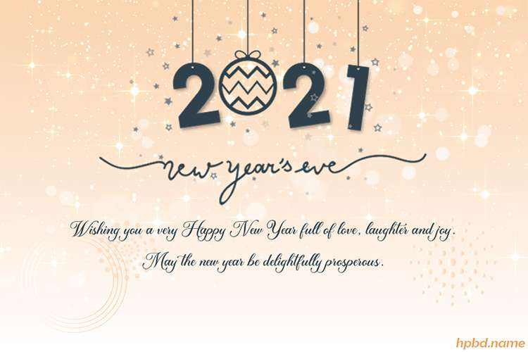 Free Download Image Of Happy New Year 2021 Card