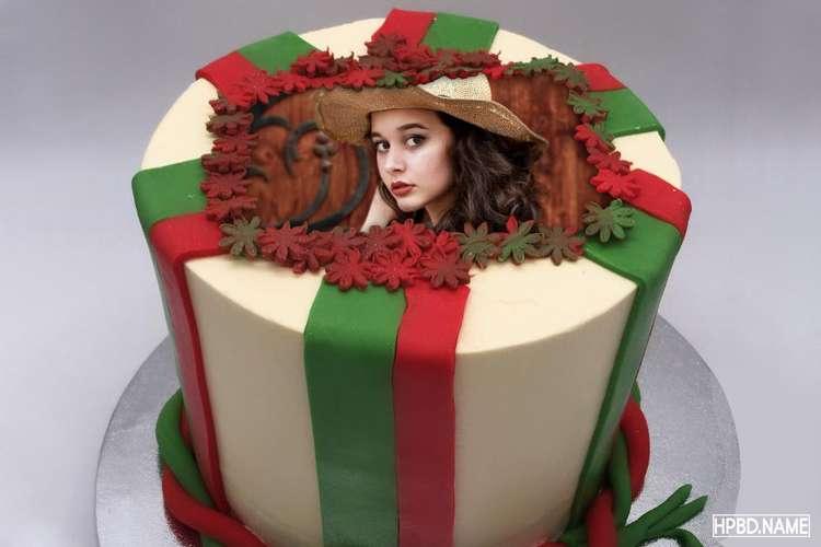 Happy Birthday Wishes Cake With Photo Edit